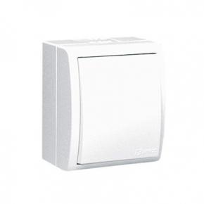 Włącznik jednobiegunowy IP54 biały AQW1/11 Simon Aquarius Kontakt-Simon