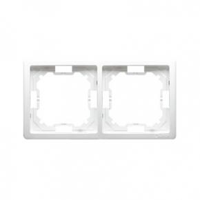 Ramka podwójna biała BMR2/11 Simon Basic Standard Kontakt-Simon