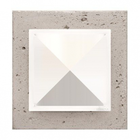 Ramka pojedyncza betonowa Al betone DRN1/91 Simon 54 Nature  Kontakt-Simon