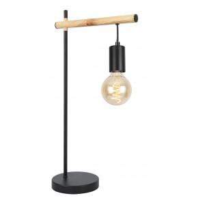 IZZY LAMPA GABINETOWA 1X60W E27 CZARNY