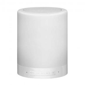 Lampki-biurkowe - przenośna lampka dekoracyjna led z głośnikiem bluetooth rgb funny led 306128 polux