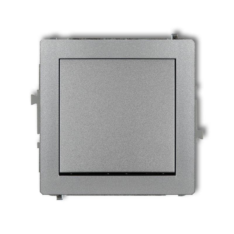Wylaczniki-typu-swiatlo-zwierne - szary wyłącznik zwierny jednobiegunowy 7dwp-4.1 deco karlik firmy Karlik
