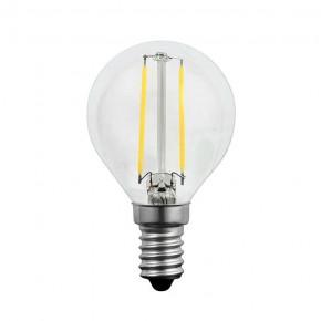 Gwint-trzonek-e14 - dekoracyjna żarówka led e14 bańka 2w-23w 3000k filament 305084 polux