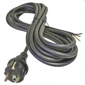 Przedluzacze-elektryczne - przewód przyłączeniowy guma 3×2,5mm, 3m czarny emos - 2425430230