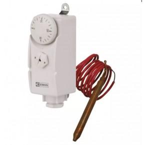 Regulatory-temperatury - termostat przylgowy z czujnikiem kapilarowym t80f emos