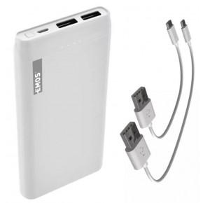 Baterie - powerbank emos alpha 10s 10000 mah biały emos - 1613052601