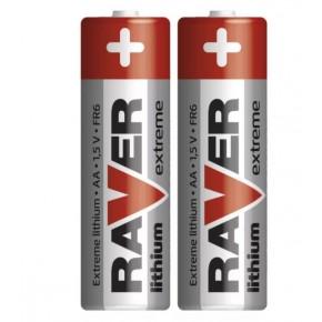 Baterie - baterie litowe 2xaa fr6 1,5v raver emos