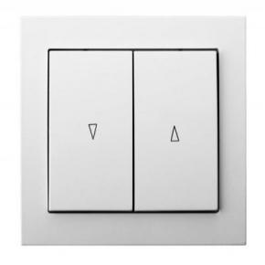 Mechanizm włącznika żaluzjowego biały ŁP-7W/00 KIER OSPEL