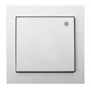 Mechanizm włącznika krzyżowego biały ŁP-4W/00 KIER OSPEL
