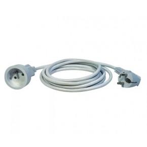 Przedluzacze-elektryczne - przedłużacz 1 gniazdo 1,5m biały emos - 1901010150