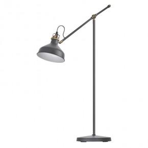 Lampy-stojace - lampa podłogowa ciemnoszara na żarówkę e27 150cm arthur z7610 emos