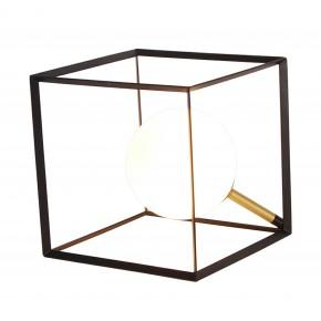 LAMPA STOŁOWA WEERT 1 CZARNY ZŁOTY 20x20x20
