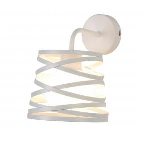 Kinkiety - lampa ścienna w kolorze białym g9 akita ledea 50401061 candellux
