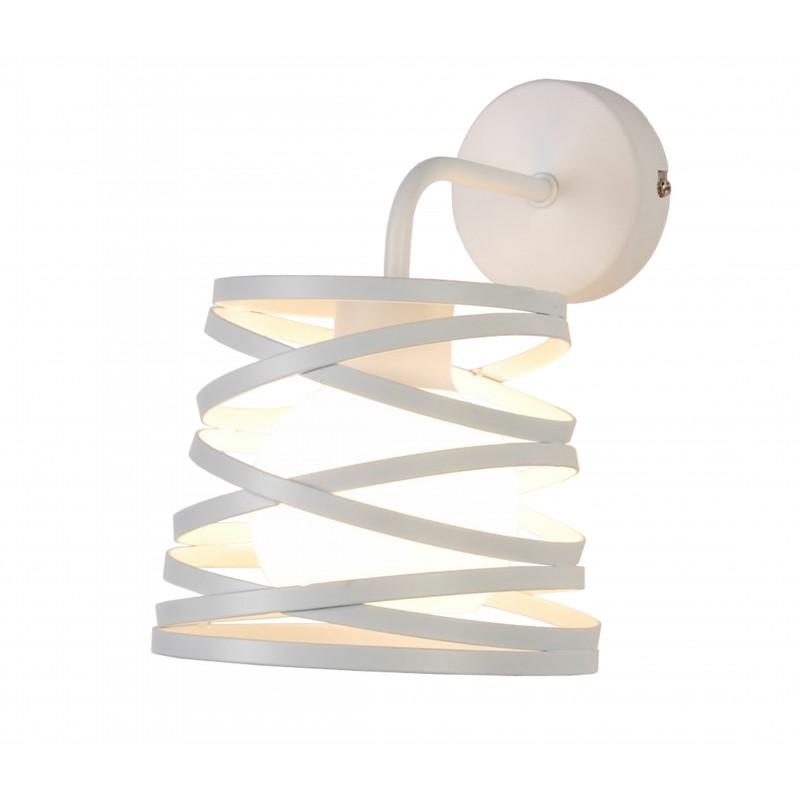 Kinkiety - lampa ścienna w kolorze białym g9 akita ledea 50401061 candellux firmy LEDEA