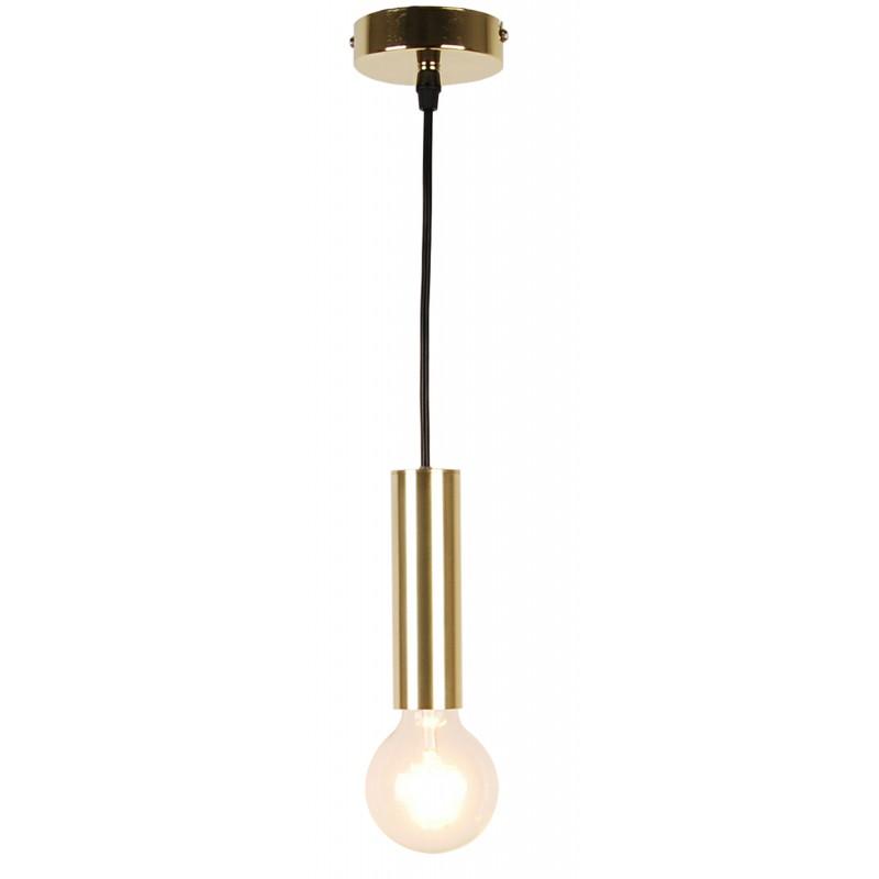 Lampy-sufitowe - złote oświetlenie sufitowe o wysokości 114,5cm 1x40w e27 dallas 50101034 ledea firmy LEDEA