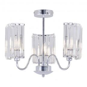 Lampy-sufitowe - lampa sufitowa wisząca na trzy źródła światła e27 delia 3 316486 polux
