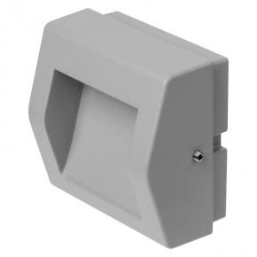 Oswietlenie-schodowe - oprawa kierunkowa led prostokąt 4w ciepłe światło szara ip54 zc0103 emos