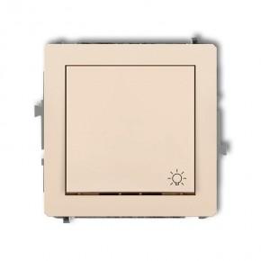 Wylaczniki-typu-swiatlo-zwierne - włącznik beżowy światło zwierne 1dwp-5 deco karlik