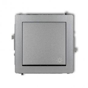 Wylaczniki-typu-swiatlo-zwierne - włącznik zwierny światło srebrny metalik 7dwp-5 deco karlik