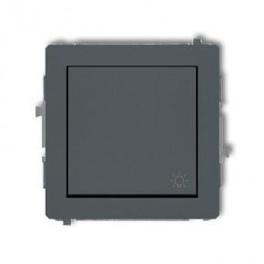 Wylaczniki-typu-swiatlo-zwierne - mechanizm włącznika światło zwierne grafitowy mat 28dwp-5 deco karlik