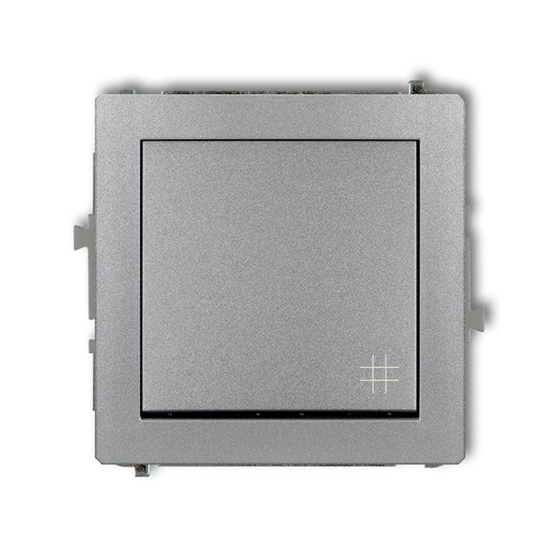 Wylaczniki-krzyzowe - szary włącznik krzyżowy 7dwp-6 deco karlik firmy Karlik