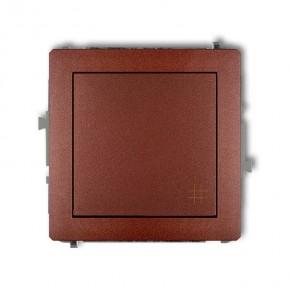 Wylaczniki-krzyzowe - brązowy włącznik krzyżowy 9dwp-6 deco karlik
