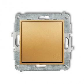 Wylaczniki-krzyzowe - złoty włącznik krzyżowy 29mwp-6 deco mini karlik