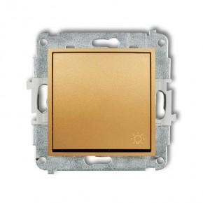 Wylaczniki-typu-swiatlo-zwierne - przycisk zwierny światło z piktogramem złoty 29mwp-5 deco mini karlik