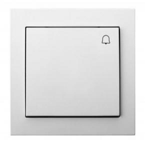 ŁP-6W/00 Przycisk dzwonkowy biały OSPEL KIER