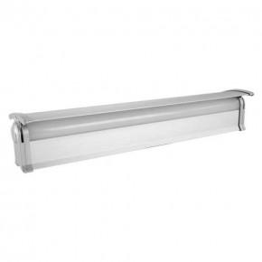 Oprawy-sufitowe - oprawa podszafkowa liniowa led srebrna 9w z regulacją barwy światła diego led 03914 ideus