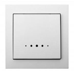 Mechanizm włącznika jednobiegunowego z podświetleniem  ŁP-1WS/00 KIER OSPEL