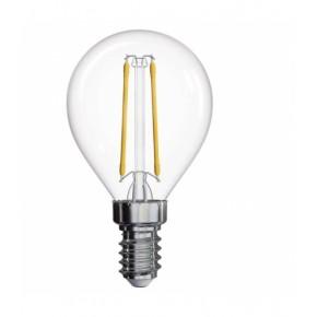 Gwint-trzonek-e14 - żarówka led e14 z dekoracyjnymi filamentami z neutralnym światłem 2w 4100k z74236 emos