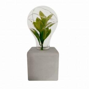 Lampki-biurkowe - lampka dekoracyjna na baterie ze sztuczną rośliną liv 2 polux