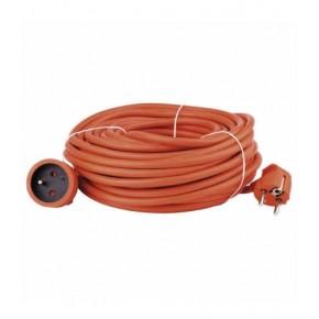 Przedluzacze-elektryczne - przedłużacz ogrodowy pomarańczowy 30m 3680w p01130 emos