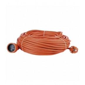 Przedluzacze-elektryczne - przedłużacz 1 gniazdo 40m pomarańczowy emos - 1901014000