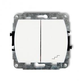 WP-10 Włącznik jednobiegunowy piktogram: schodów TREND KARLIK