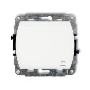 Włącznik zwierny DZWONEK WP-4 Biały TREND KARLIK