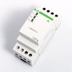Przekazniki-kontroli-faz - czujnik zaniku fazy i asymetrii napięcia 10 a czf-b 2 moduły f&f