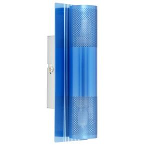 LAMPA EMU KINKIET 2X40W G9 BŁĘKITNY