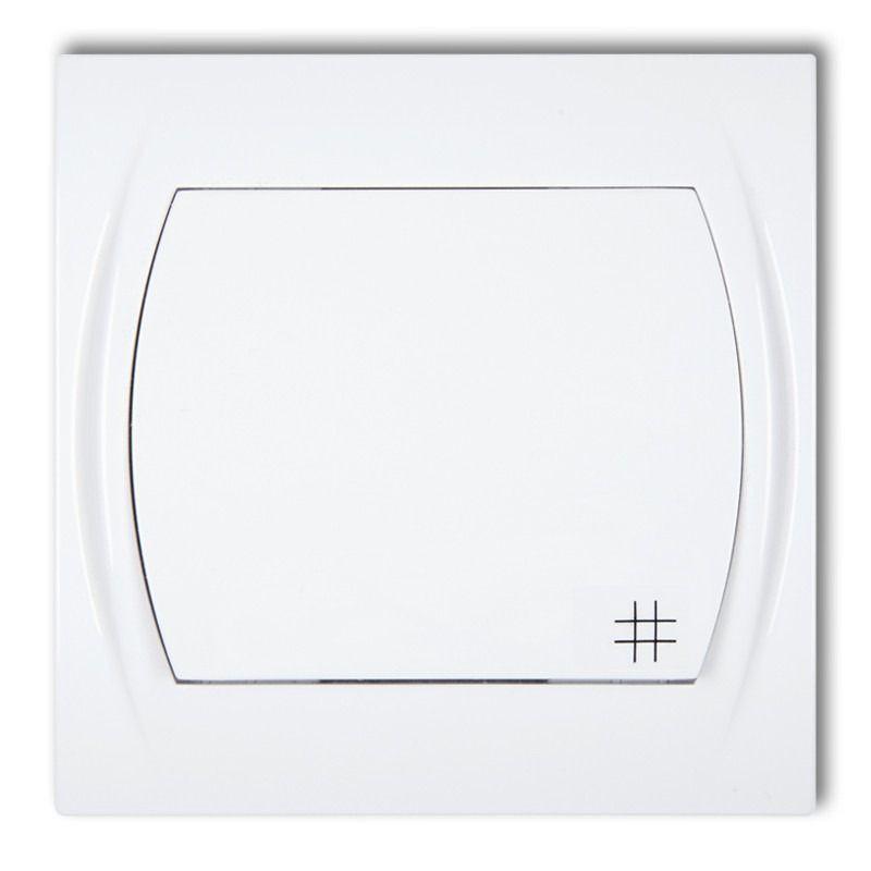 Wylaczniki-krzyzowe - włącznik krzyżowy lwp-6 biały, logo karlik firmy Karlik