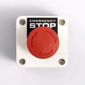 Kaseta z przyciskiem awaryjnym - czerwony grzybek EL 1 – B 174 – ELMARK