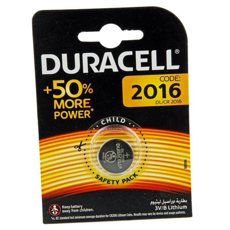 Baterie - bateria litowa 3v dl/cr 2016 duracell firmy DURACELL