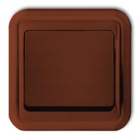 Włącznik pojedynczy brązowy podtynkowy 4WPT-1 LIZA KARLIK