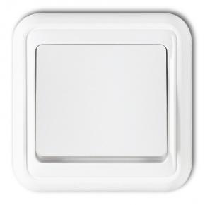 Włącznik pojedynczy biały podtynkowy WPT-1 LIZA KARLIK