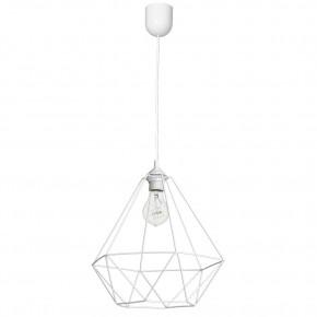 Lampy-sufitowe - delikatna lampa wisząca o ażurowym kloszu 1xe27 basket mlp7212 eko-light