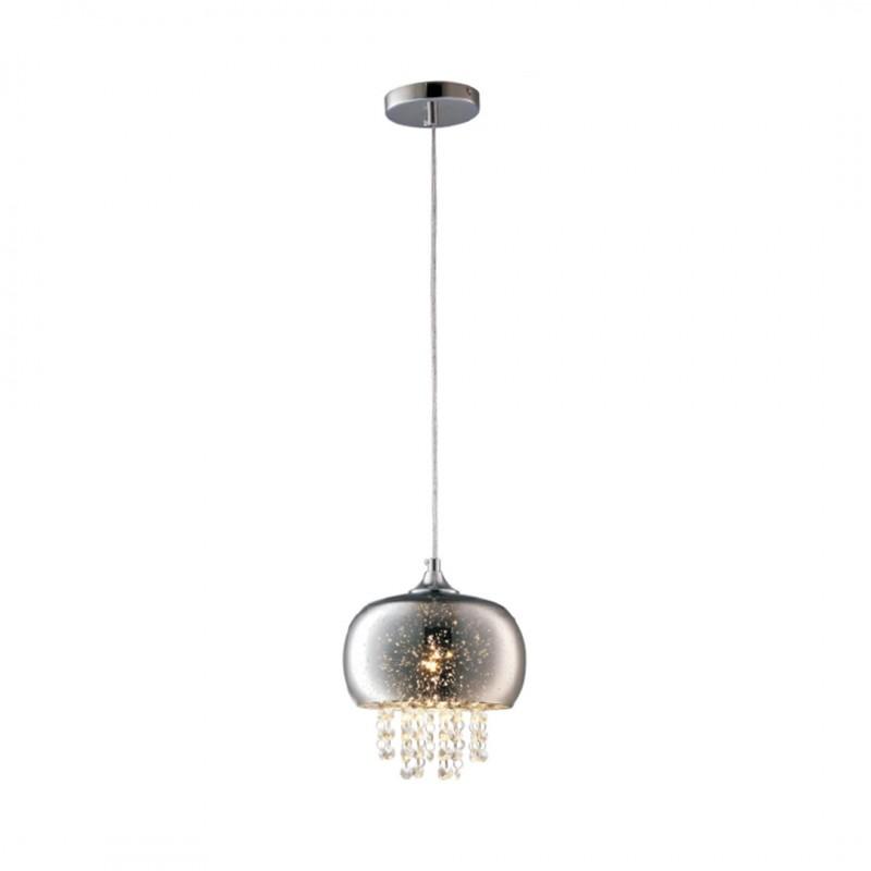 Lampy-sufitowe - lampa wisząca sufitowa z kryształkami na żarówkę e14 starlight ml3789 eko-light firmy EKO-LIGHT