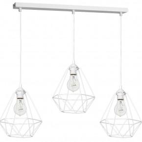 Lampa wisząca BASKET WHITE 3xE27