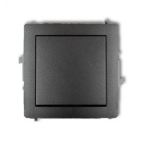 Włącznik  pojedynczy 11DWP-1  1x GRAFIT DECO KARLIK