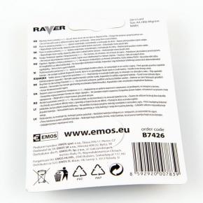 Baterie - akumulatorki aa do lamp solarnych b7426 hr06/b2 600 mah raver emos