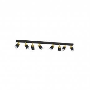 Lampa sufitowa JOKER BLACK/GOLD 8xGU10